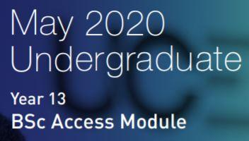 Year 13 BSc Access Module