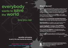 Everybody wants to save the world - now you can
