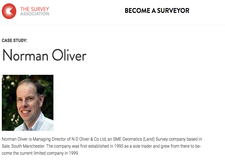 Norman Oliver - Land Surveyor