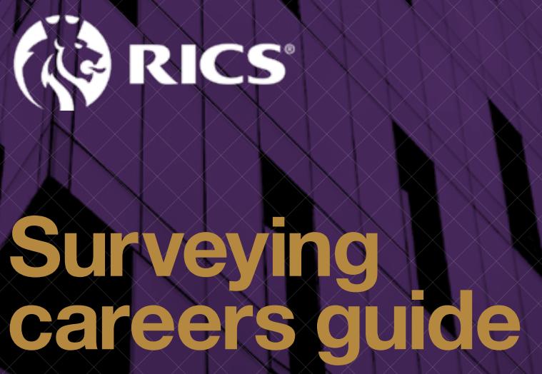 Surveying Careers Guide - RICS