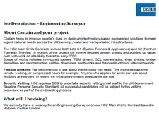 Engineering Surveyor