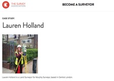 Lauren Holland - Land Surveyor