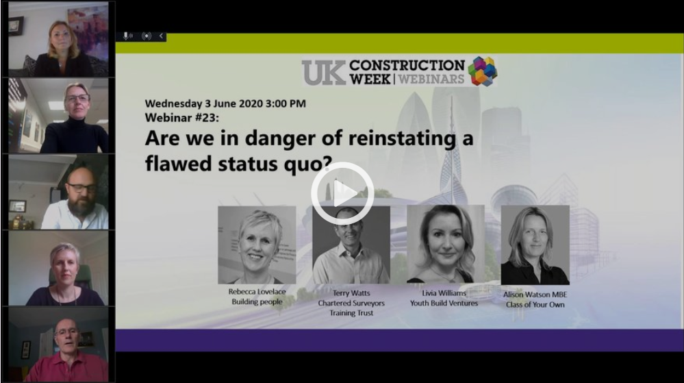 Free Webinar #23: Are we in danger of reinstating a flawed status quo?