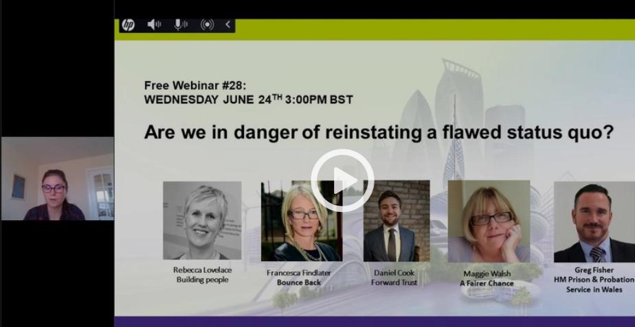 Free Webinar #28: Are we in danger of reinstating a flawed status quo?