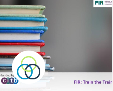 FIR Toolkit: Train the trainer